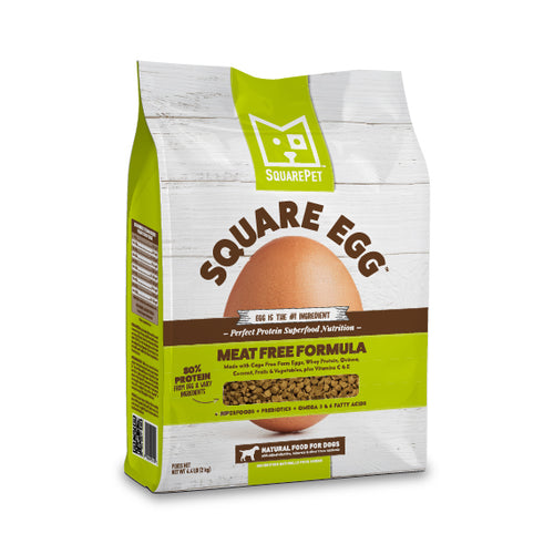 SquarePet Square Egg Dog Food