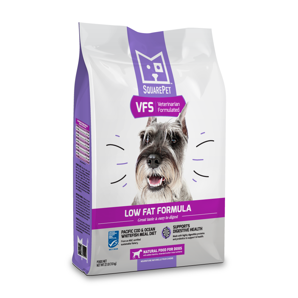VFS Low Fat Dog Food Pancreatitis IBD