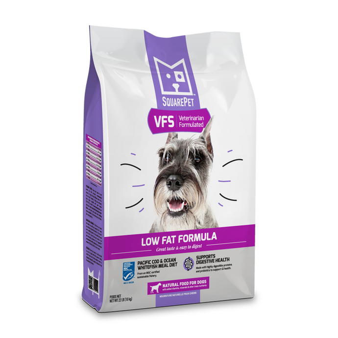 Veterinarian Formulated Solutions low fat dog food for pancreatitis and digestive care image.