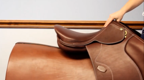 Review parts of a saddle