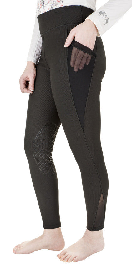 TUFFRIDER LADIES CLASSIC RIBBED TIGHTS