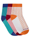 JUMP USA Terry Cotton 3 Pack Socks Ladies_1