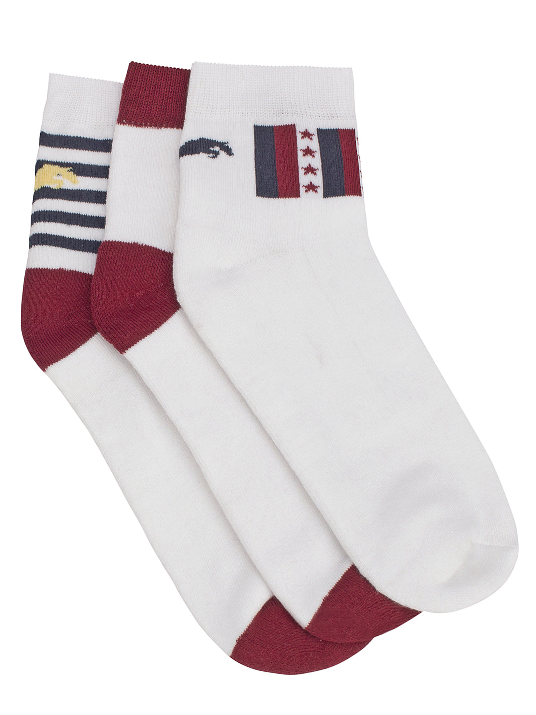 JUMP USA Terry Cotton 3 Pack Socks Mens - JUMP USA - Breeches.com