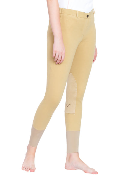 TuffRider Ladies Pull-On Knee Patch Breeches_4