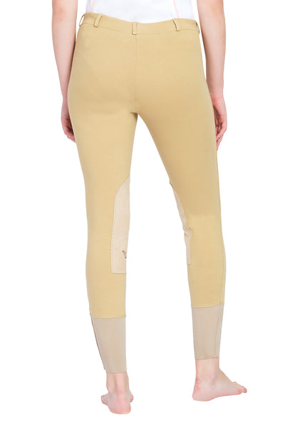 TuffRider Ladies Pull-On Knee Patch Breeches_5