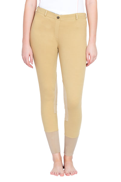 TuffRider Ladies Pull-On Knee Patch Breeches_3