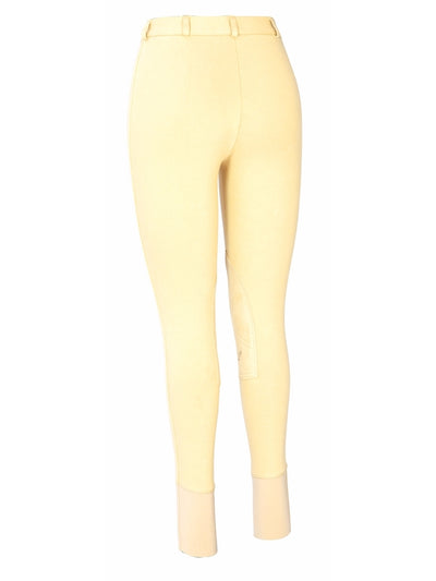 TuffRider Ladies Cotton Knee Patch Breeches - TuffRider - Breeches.com
