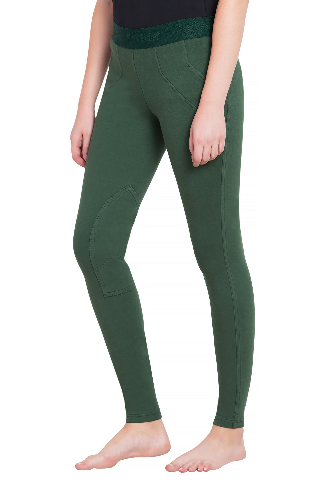 TuffRider Ladies Cotton Schoolers Riding Tights - TuffRider - Breeches.com