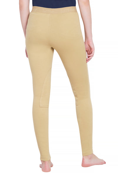 TuffRider Ladies Cotton Schoolers Riding Tights - Breeches.com