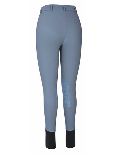 TuffRider Ladies Ribb Knee Patch Breeches (Long) - TuffRider - Breeches.com