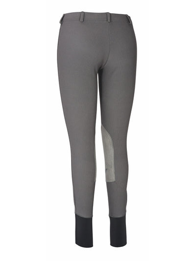 TuffRider Ladies Ribb Lowrise Pull-On Knee Patch Breeches_4
