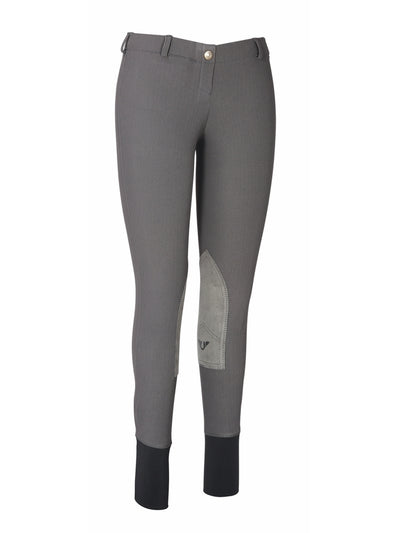 TuffRider Ladies Ribb Lowrise Pull-On Knee Patch Breeches_3