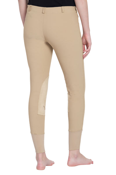 TuffRider Ladies Ribb Lowrise Pull-On Knee Patch Breeches_12