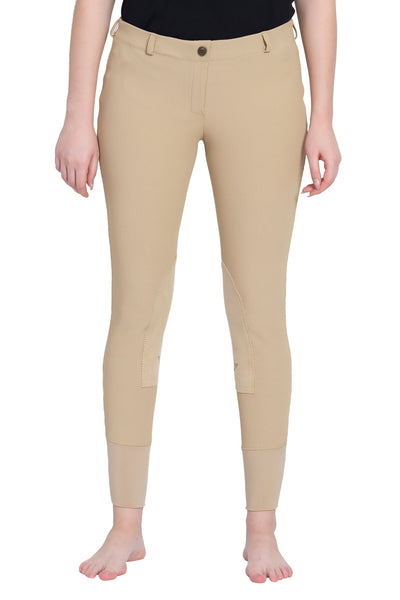 TuffRider Ladies Ribb Lowrise Pull-On Knee Patch Breeches_8