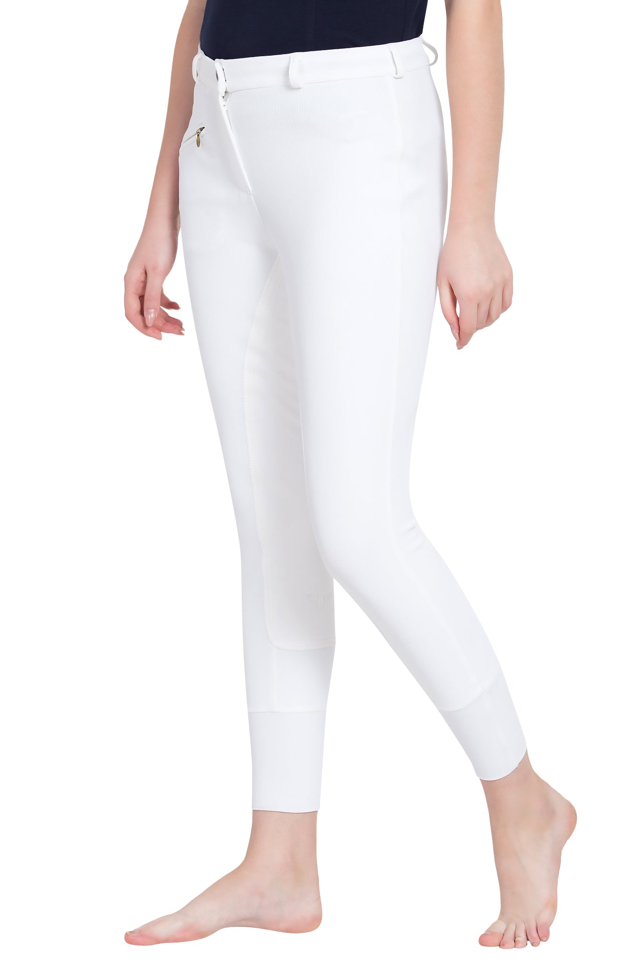 Ladies Ribb Lowrise Full Seat Breeches - TuffRider - Breeches.com