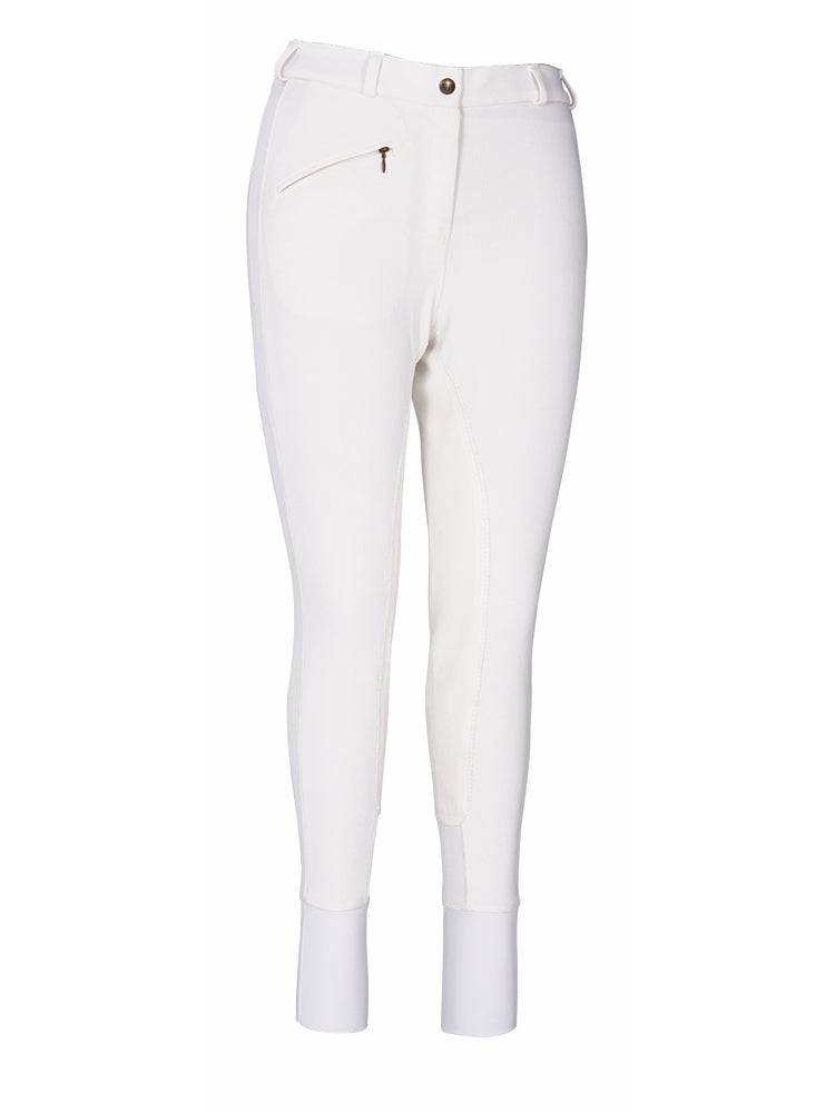 Ladies Ribb Full Seat Breeches (Long) - TuffRider - Breeches.com