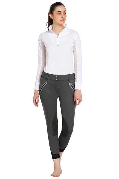 TUFFRIDER LADIES YETI SOFT SHELL KNEE PATCH BREECHES - TuffRider - Breeches.com