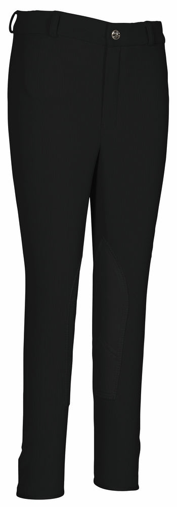 Children's Ribb Lowrise Knee Patch Breeches - TuffRider - Breeches.com