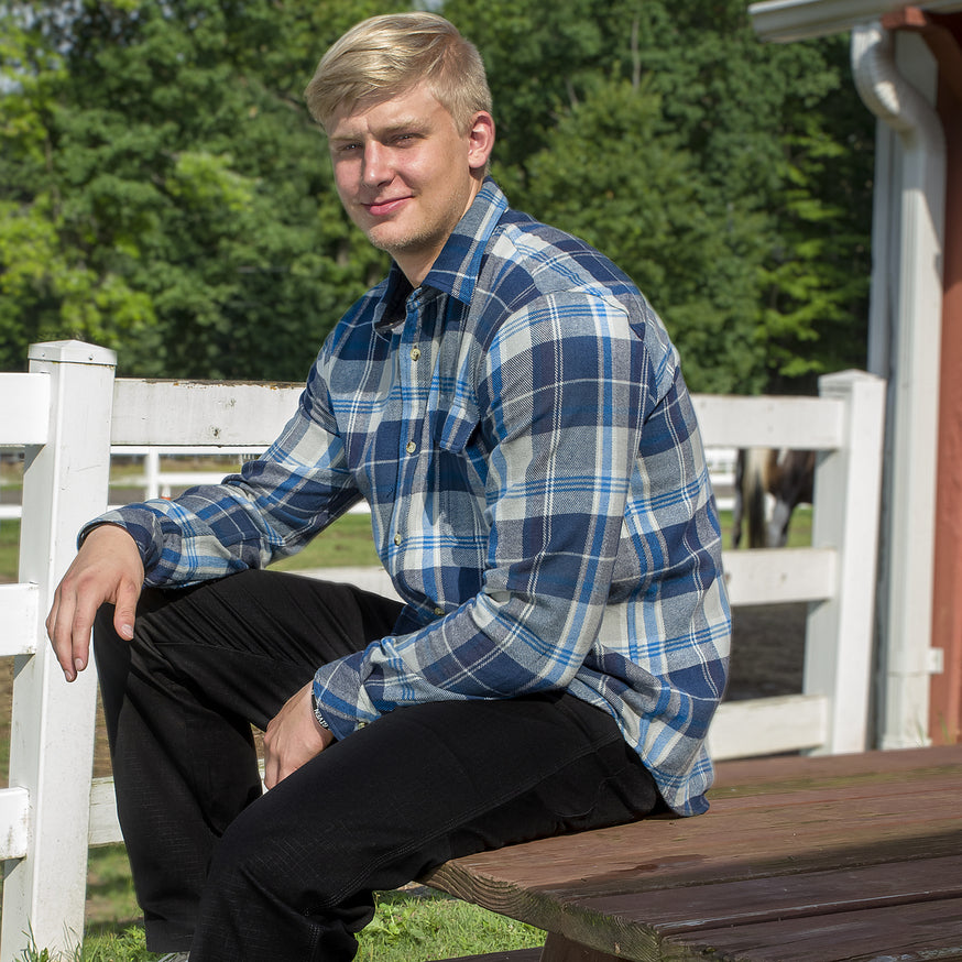 TuffRider Men's Voltage Flannel Shirt - Breeches.com