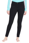 TuffRider Ladies Cotton Pull-On Knee Patch Plus Breeches - TuffRider - Breeches.com