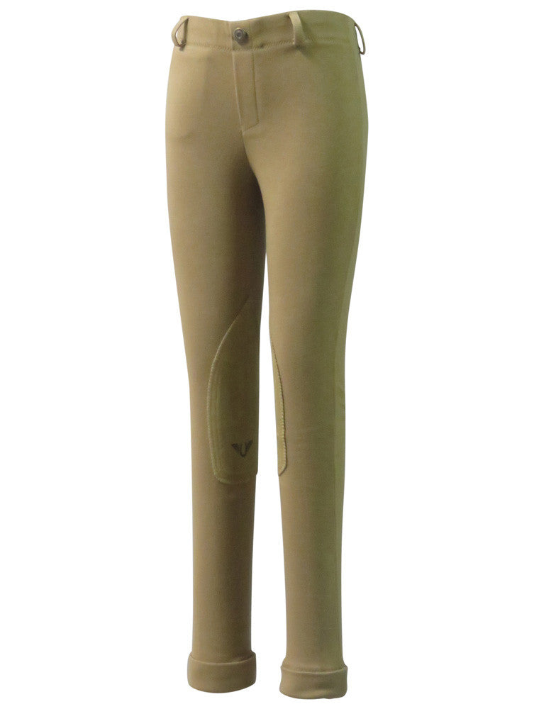 TuffRider Children's Cotton Pull-On Jodhpurs - Tall - Breeches.com