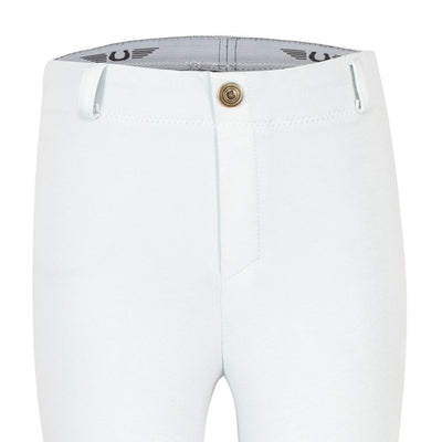 TuffRider Children's Cotton Embroidered Pull-On Jodhpurs - TuffRider - Breeches.com