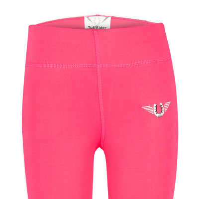 TuffRider Children's Ventilated Schooling Riding Tights - Breeches.com