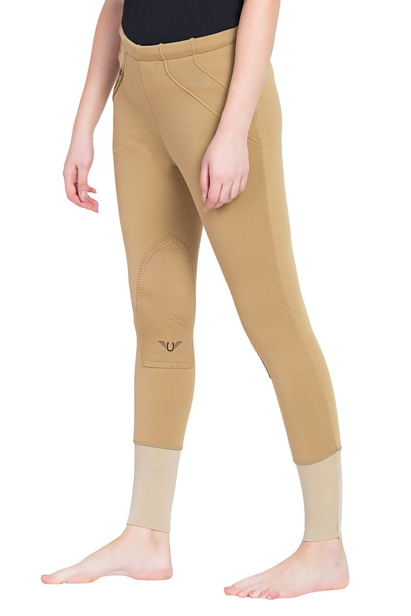 Ladies Unifleece Pull-On Winter Breeches - TuffRider - Breeches.com