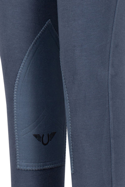 TuffRider Children's Starter Lowrise Pull-On Knee Patch Breeches - TuffRider - Breeches.com