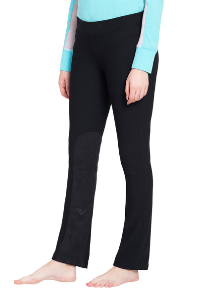 TuffRider Ladies Ribbed Boot Cut Riding Tights - Breeches.com
