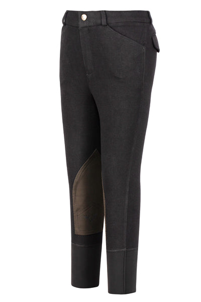 Boys Patrol Light Knee Patch Breeches - TuffRider - Breeches.com