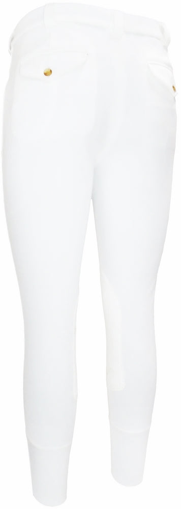 TuffRider Men's Ribb Patrol Knee Patch Breeches - TuffRider - Breeches.com
