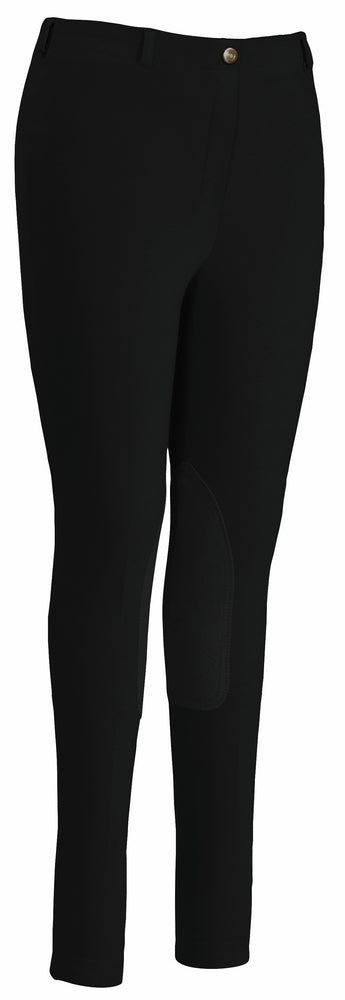 TuffRider Ladies Cotton Pull-On Gripper Breeches - Breeches.com