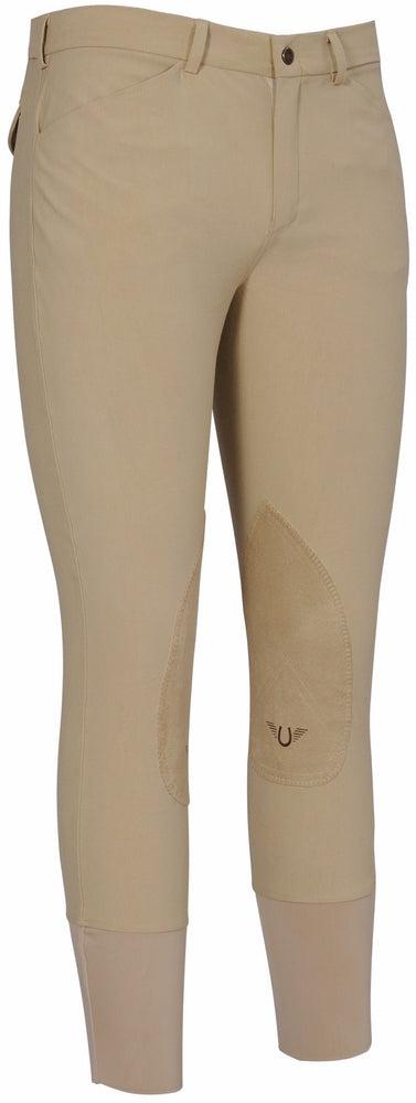 Men's A-Circuit Knee Patch Breeches - TuffRider - Breeches.com