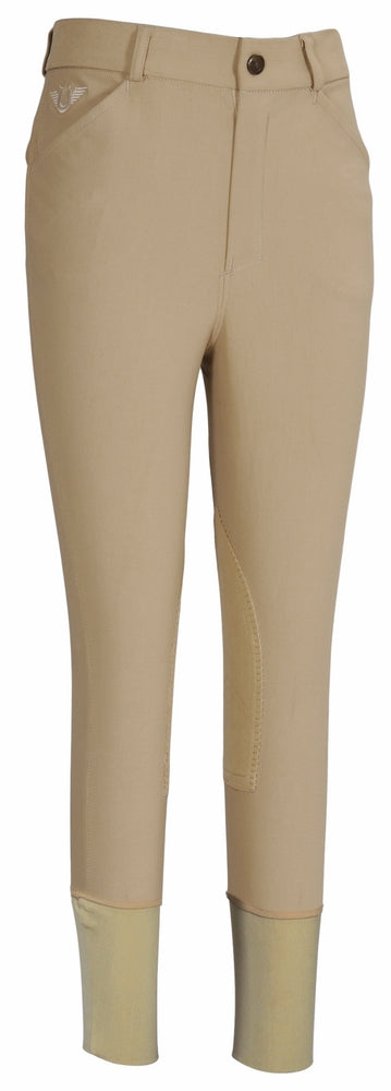 TuffRider Boys A-Circuit Knee Patch Breeches - TuffRider - Breeches.com