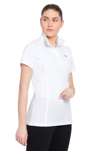 TuffRider Ladies Kirby Kwik Dry Short Sleeve Show Shirt_3