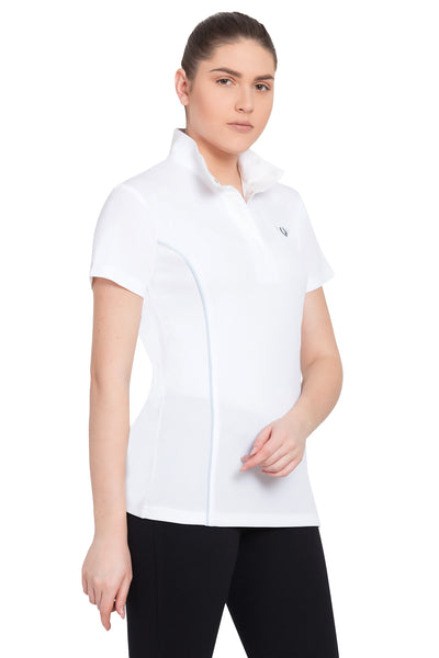 TuffRider Ladies Kirby Kwik Dry Short Sleeve Show Shirt_7