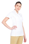 TuffRider Ladies Kirby Kwik Dry Short Sleeve Show Shirt_14