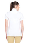 TuffRider Ladies Kirby Kwik Dry Short Sleeve Show Shirt_15
