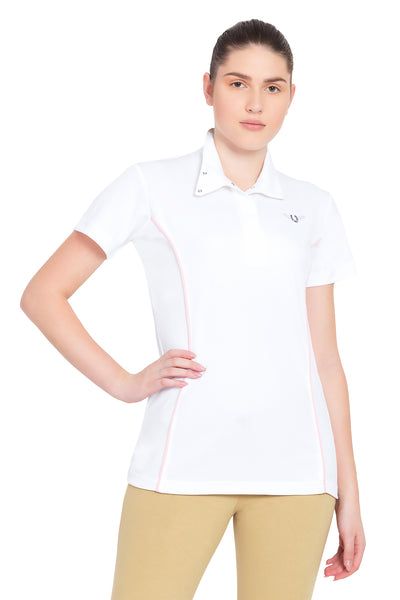 TuffRider Ladies Kirby Kwik Dry Short Sleeve Show Shirt_13
