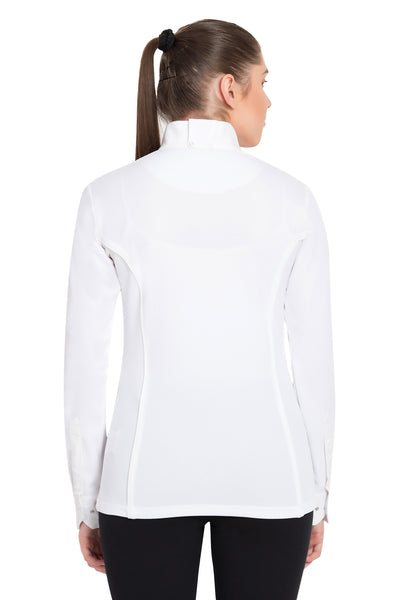 TuffRider Ladies Kirby Kwik Dry Long Sleeve Show Shirt_4