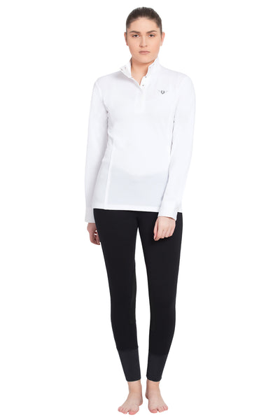 TuffRider Ladies Kirby Kwik Dry Long Sleeve Show Shirt_5