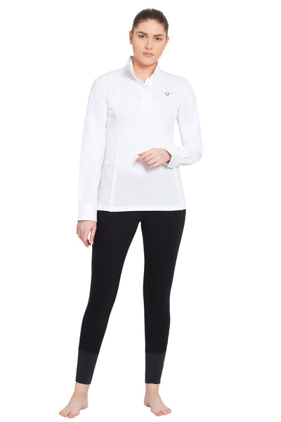 TuffRider Ladies Kirby Kwik Dry Long Sleeve Show Shirt_6