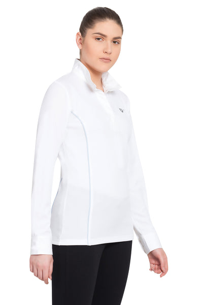 TuffRider Ladies Kirby Kwik Dry Long Sleeve Show Shirt_9