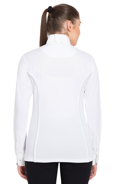 TuffRider Ladies Kirby Kwik Dry Long Sleeve Show Shirt_10