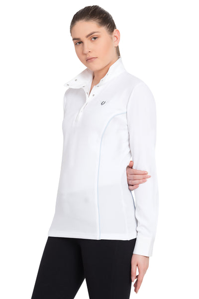 TuffRider Ladies Kirby Kwik Dry Long Sleeve Show Shirt_8
