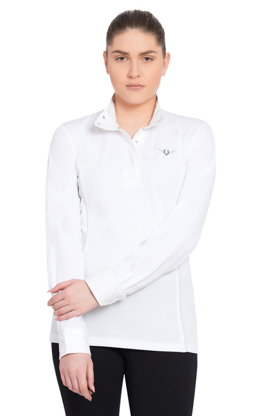 TuffRider Ladies Kirby Kwik Dry Long Sleeve Show Shirt_7