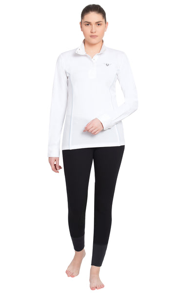 TuffRider Ladies Kirby Kwik Dry Long Sleeve Show Shirt_11