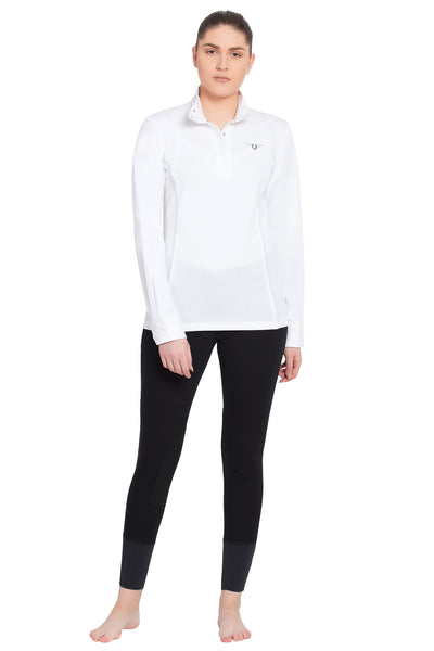 TuffRider Ladies Kirby Kwik Dry Long Sleeve Show Shirt_12