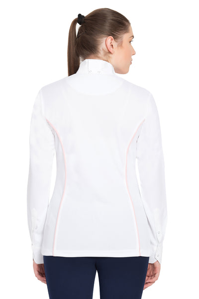 TuffRider Ladies Kirby Kwik Dry Long Sleeve Show Shirt_16